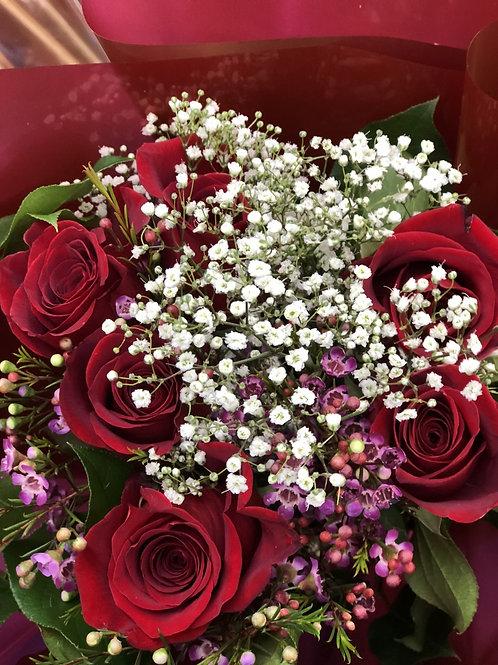 Classic Six Roses