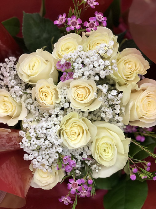 Variety Colors Of Dozen Roses