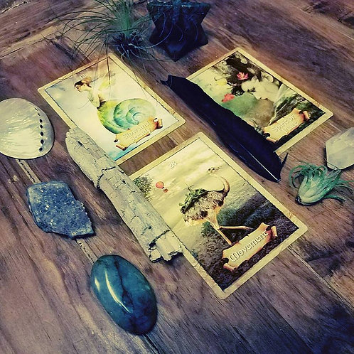 Intuitive Tarot Reading in Person