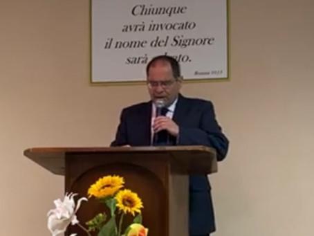 """""""Non fare il bambino!"""" 1ª Lettera ai Corinzi 14:20. Pastore Archetto Brasiello"""