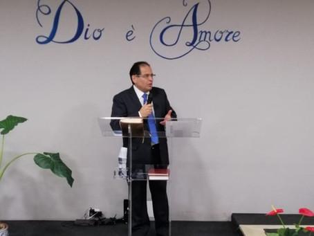 """""""Ubbidisci e vedrai!"""". Vangelo di Giovanni 2:1-12.  Pastore Archetto Brasiello."""