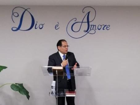 """""""La Mano di Dio!"""" Esdra 8:18-22, 31. Pastore Archetto Brasiello."""