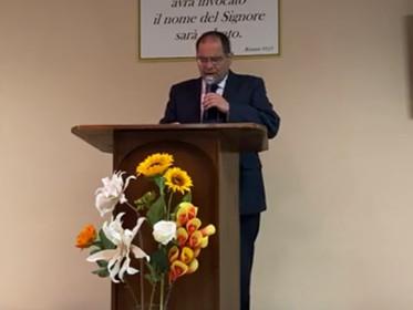 """""""Gesù dice No!"""" Marco 5:12-20. Predicazione del pastore Archetto Brasiello."""
