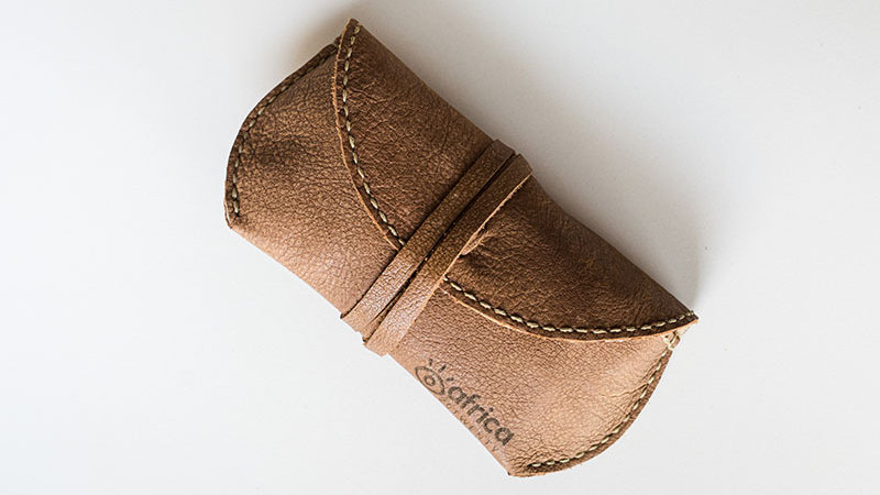 Tan Sunglass Case