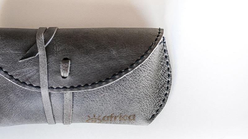 Grey Sunglass Case
