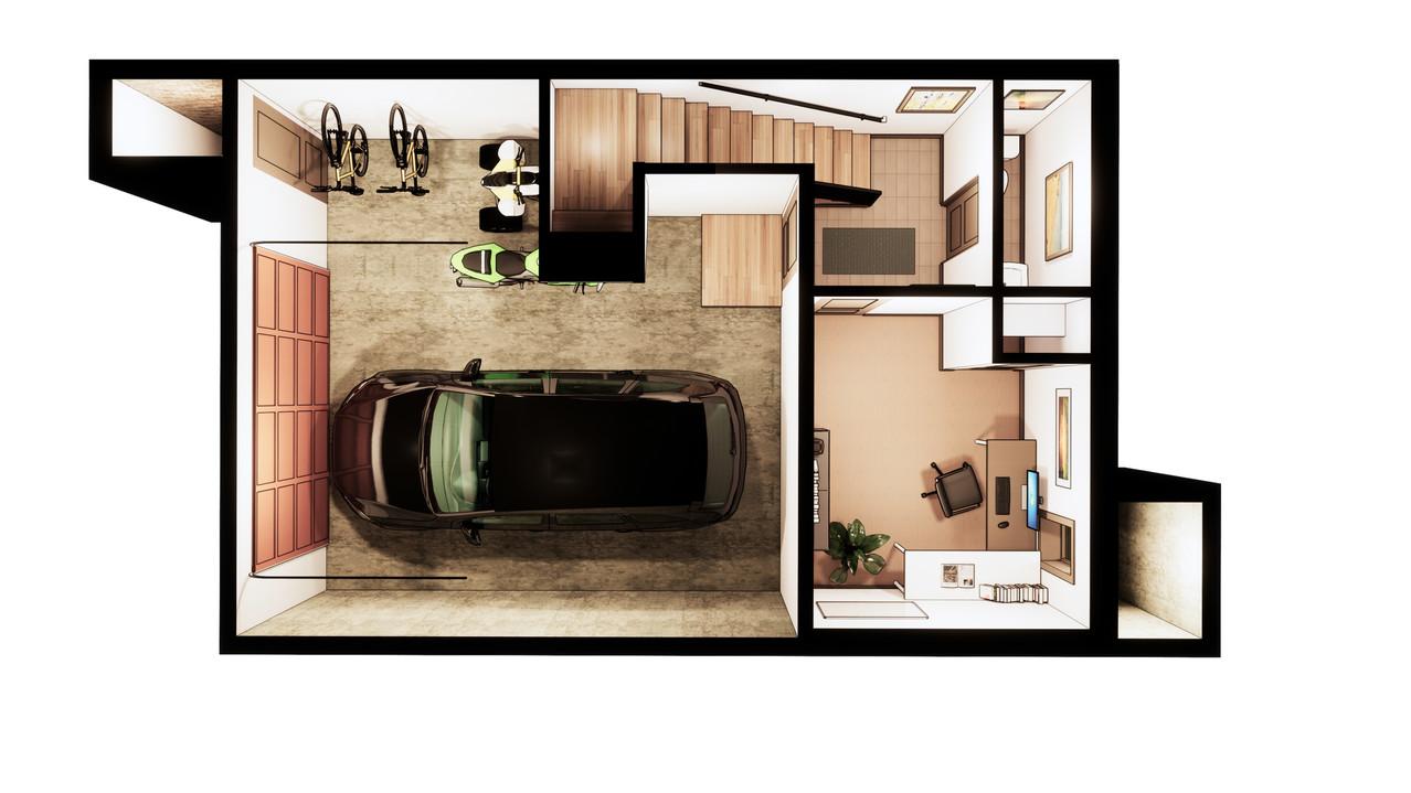 floor paln basement