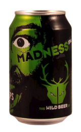24 x 330ml case of Madness IPA