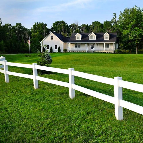 Equestrian Fence - 8ft x 3ft (2 Rail)