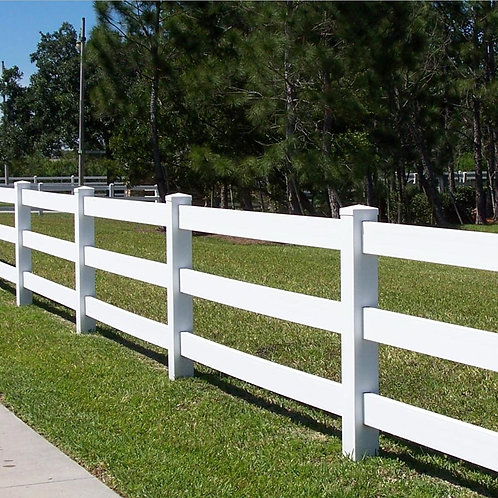 Equestrian Fence - 8ft x 4.5ft (3 Rail)