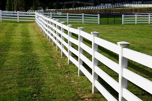 Equestrian Fence - 8ft x 5ft (4 Rail)