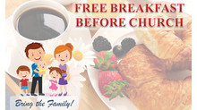 FREE Breakfast B4 Church