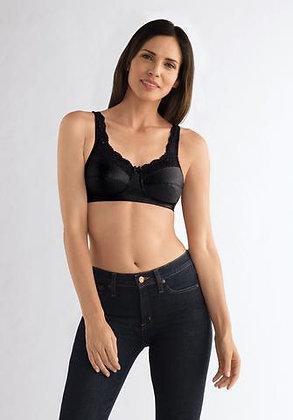 Amoena Annabell Non Underwire Mastectomy Bra 2126 Black