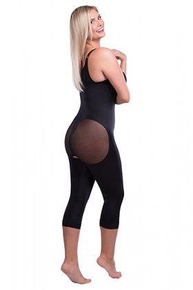 Lipoelastic VD Body BBC Post Surgial Compression Garment Black/Natural