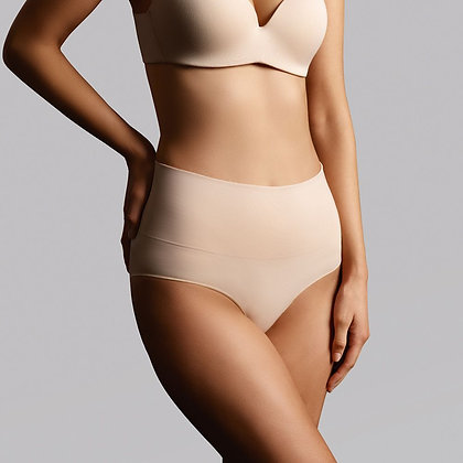 Ambra Seamless Smoothies Full Brief Beige AMSHSSFB2P 2pk