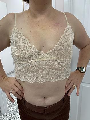 Lace Cami Cream (no Pockets)