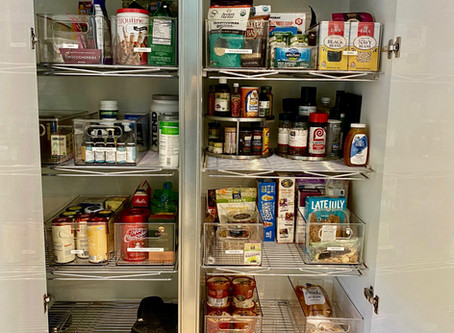 Step-By-Step Pantry Organizing