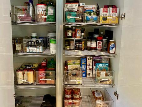 Step-By-Step Pantry Organizing