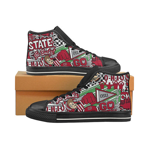 Men's Ohio State Canvas High-Tops