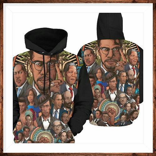 Black History Collage Hoodie
