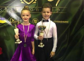 Мариупольский танцоры вновь чемпионы!