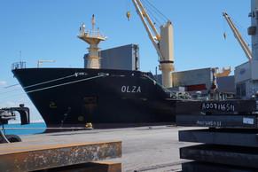 Dois milhões de toneladas de aço exportadas provam o valor do Pecém