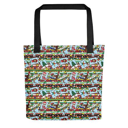 Christmas Loteria Tote bag