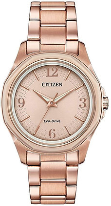 Citizen AR Eco-Drive Pink Gold Stainless Steel Watch