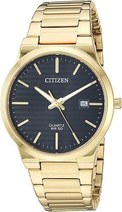 Citizen Men's Classic Quartz Black Dial Watch