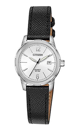 Citizen Quartz Women's Leather Band Watch