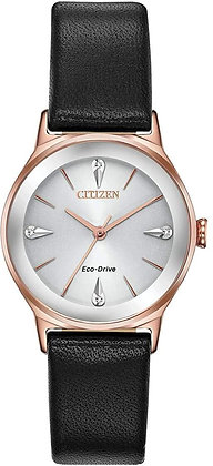 Citizen Axiom Eco-Drive Rose Gold Stainless Steel Watch