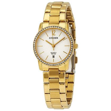 Citizen Women's Quartz White Dial Watch