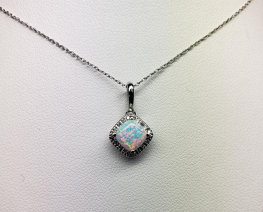 Birthstone Pendants w/ Diamond