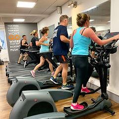 HIIT class, activzone fitness class, cardio