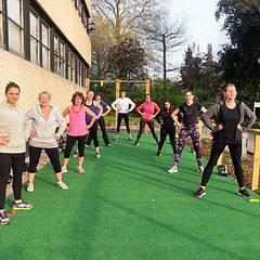 Outdoor exercise, outdoor classes, activzone gym, stoke park