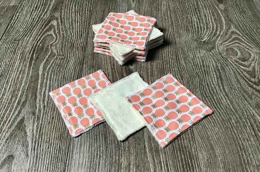 Lingettes lavables (vendu par 4 ou plus )