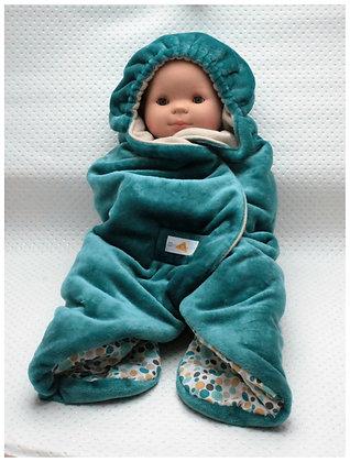 Couverture Nomade bébé BarnaAzur