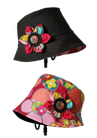 Chapeau réversible modèle Vintage