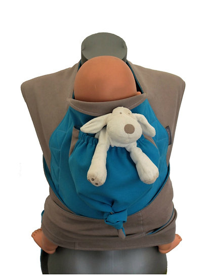 Porte-bébé Mei Tai Barna...
