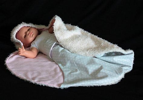 Couverture Nomade bébé BarnaNeige