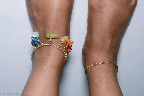 7 Chakra Anklet