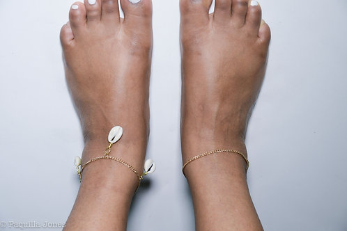 Cowerie Anklet