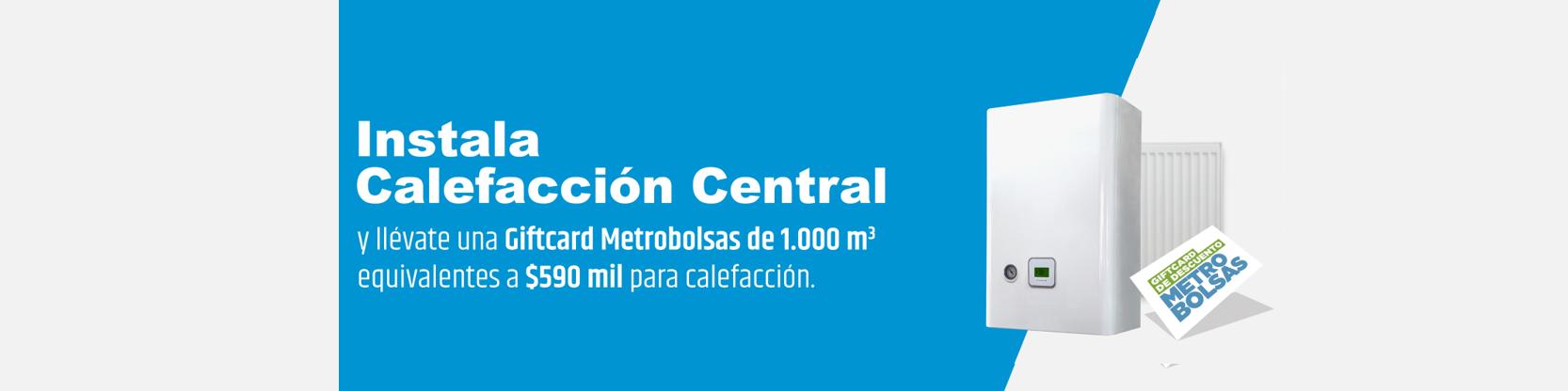 Promoción Calefacción Central