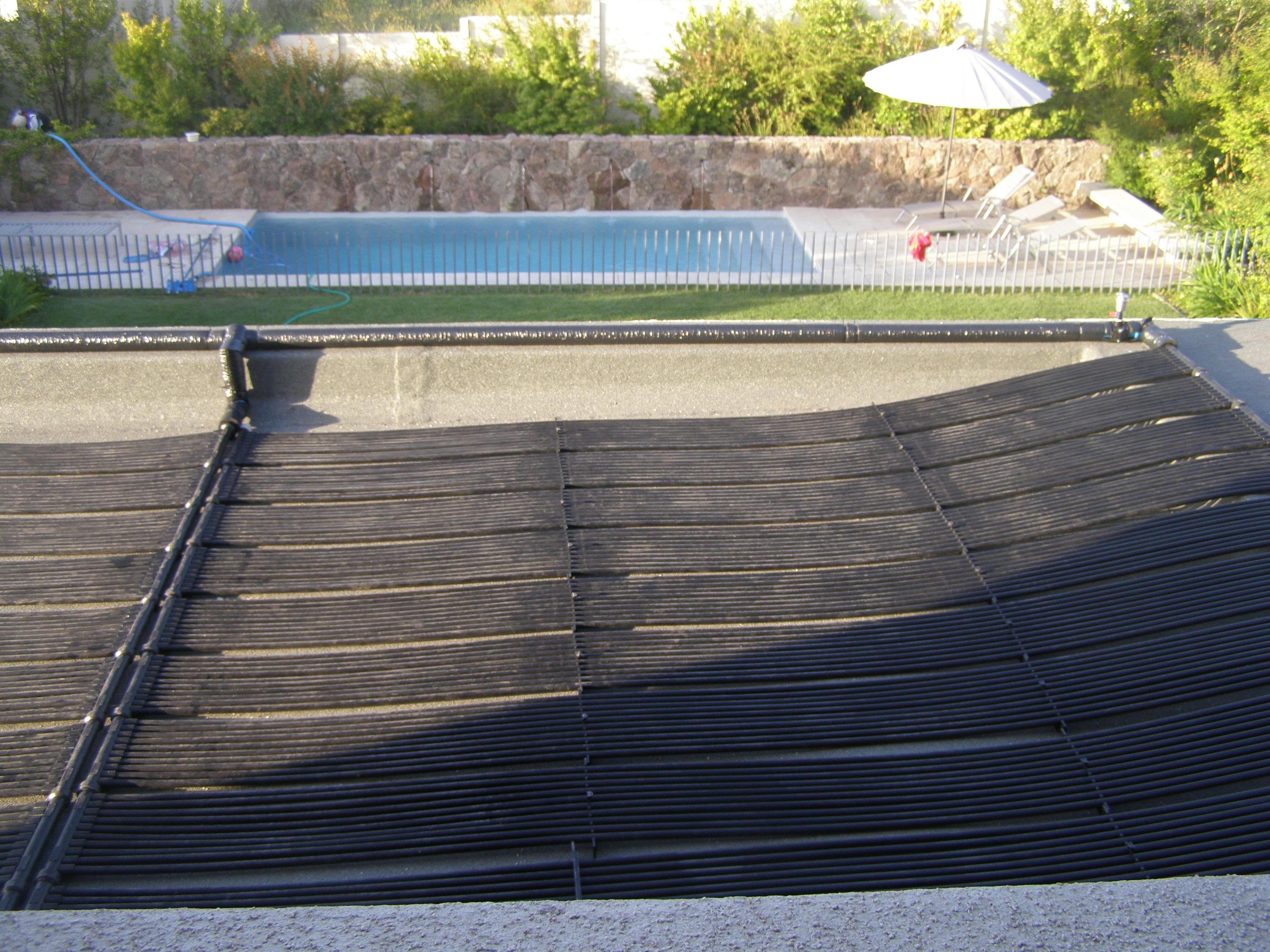 Panel solar de Piscina