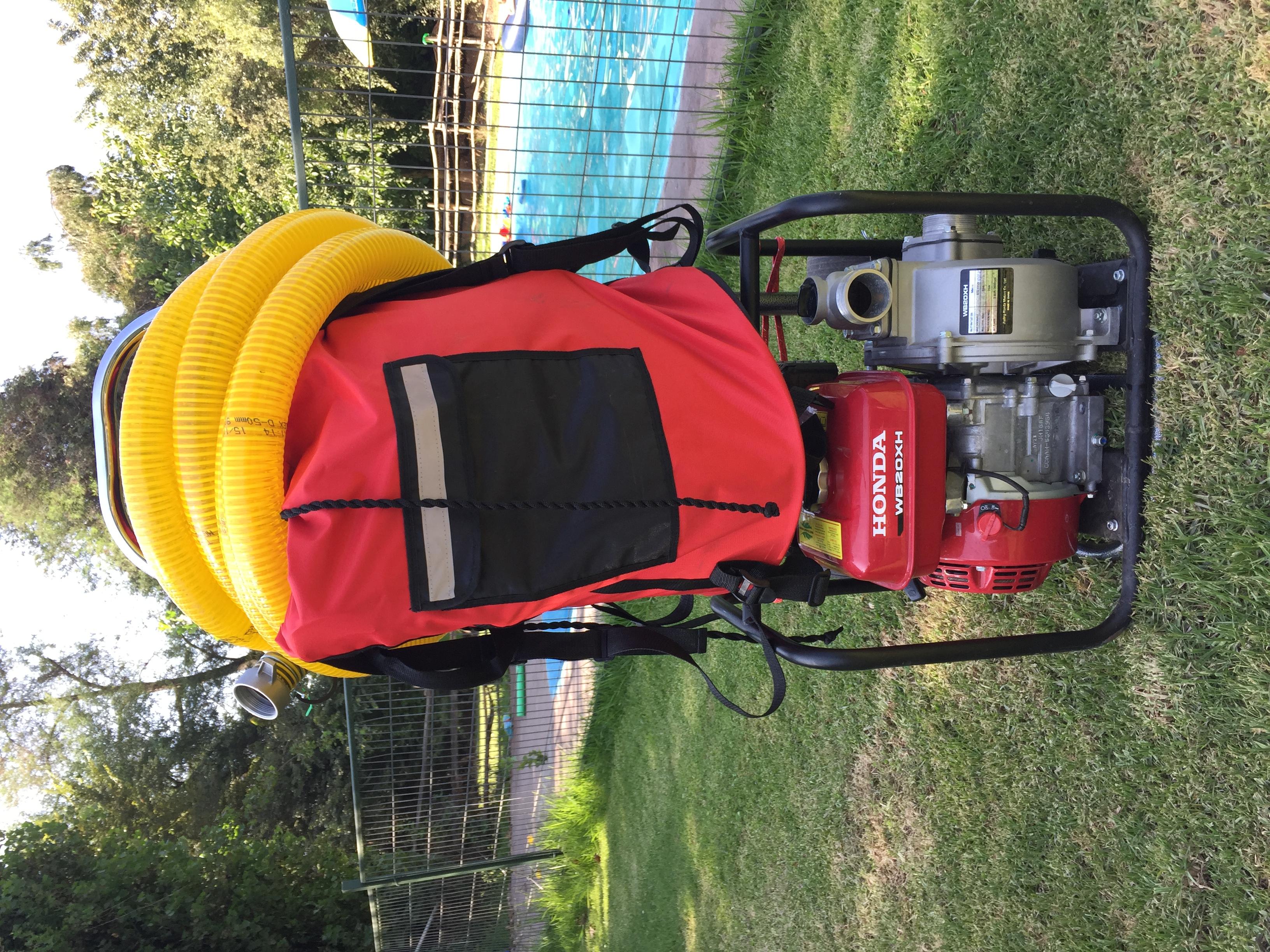kit portatil contra incendios