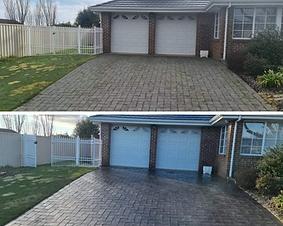 Concrete & Interlocking Brick Sealing