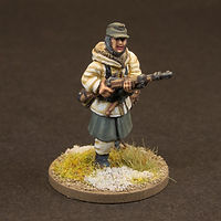 WWII Winter German Soldier Figure