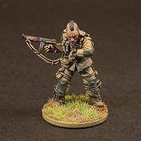 US Paratrooper Fighter Miniature