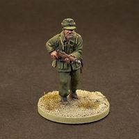 German Afrika Korps Soldier Figure
