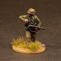 WW2 German Waffen SS Soldier Miniature