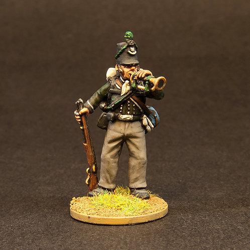 FNBR101: British Riflemen - Skirmish Order (12 figures)